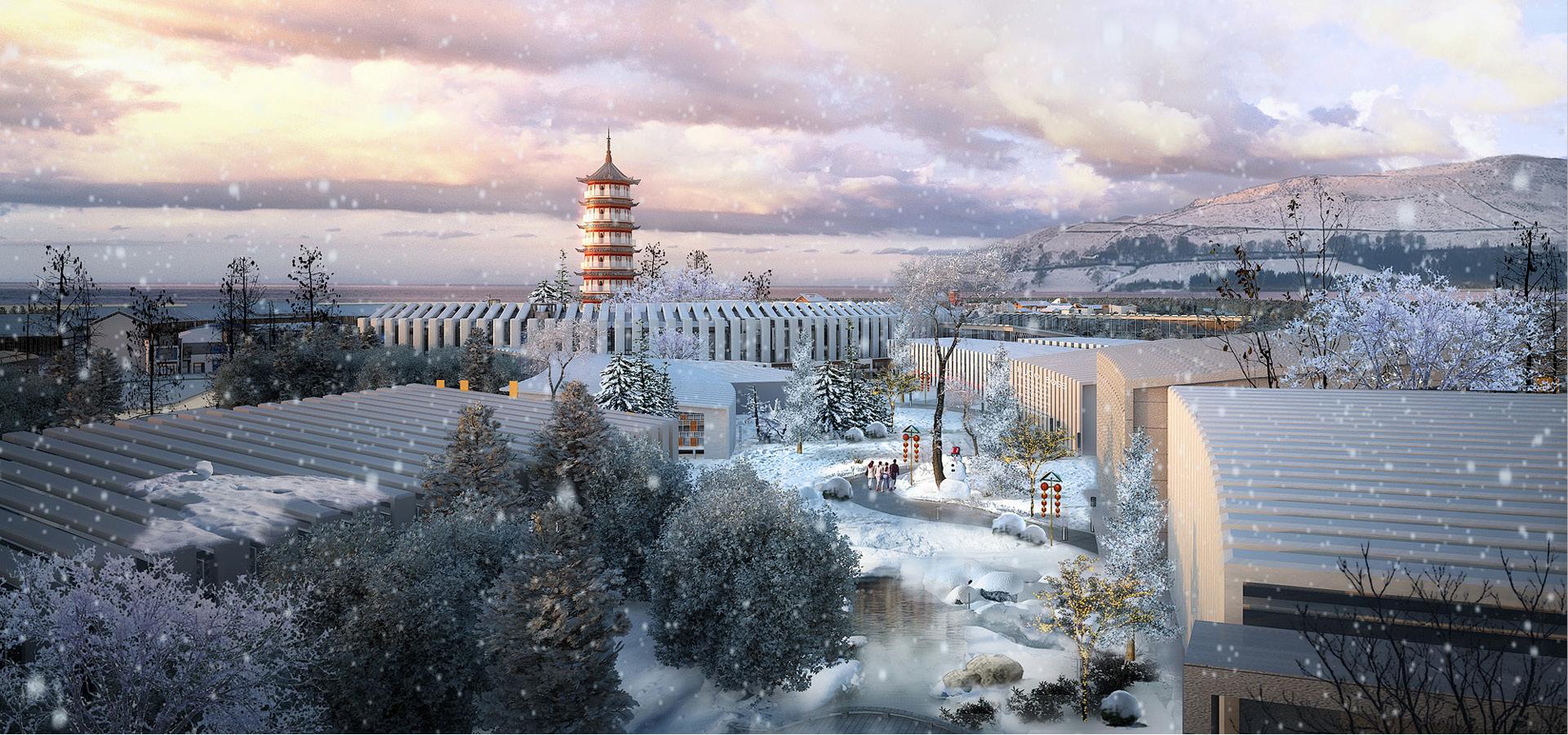 山东青岛唐岛湾尚城国际项目--青岛中国院子