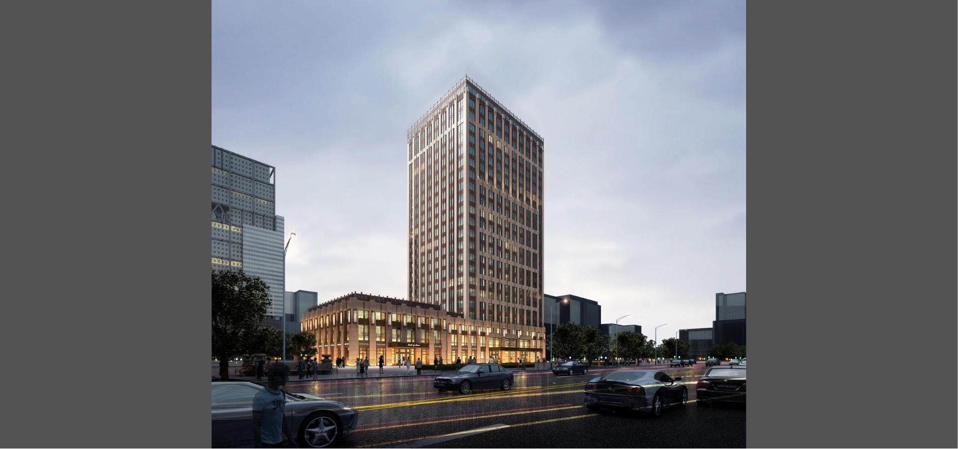 青岛金融中心大厦 - 北洋设计图片